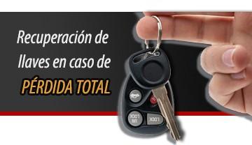 Recuperación de llaves en caso de perdida total o robo